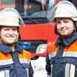 Two firefighters — Stock Photo #69659015