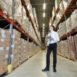Manager im warehouse — Stockfoto #69659059