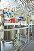 Pharmaceutical water treatment system — Stock Photo