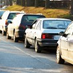 Traffic during the rush hour — Stock Photo #71023489