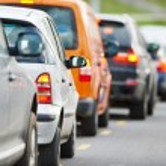 Traffic during the rush hour — Stock Photo #71217905