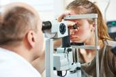 Adult  ophthalmology or optometry — Stock Photo