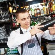 Bartender work at bar — Stock Photo #73238357