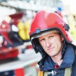 Firefighter fireman — Stock Photo #75472825
