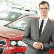 Automobile car dealer salespersom manager — Stock Photo #75720827