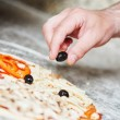 Pizza preparartion — Stock Photo #75721109