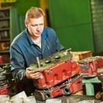 Assembler worker at tool workshop — Stock Photo #76296421