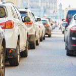 Traffic during the rush hour — Stock Photo #76296503