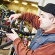 Bike repair or adjustment — Stock Photo #76296569