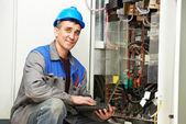 Engenheiro eletricista — Fotografia Stock