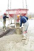 Concreting works — Stock Photo