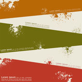 Abstract grunge background template design. Vector — Stok Vektör