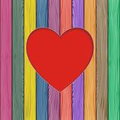Valentines greeting card. Vector illustration — Vetor de Stock