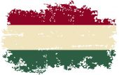 Hungarian grunge flag. Vector illustration. — Stock Vector