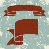 Set of banner ribbons. Vector illustration — Stock Vector