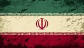 Iranian flag. Grunge background. Vector illustration — Stock Vector