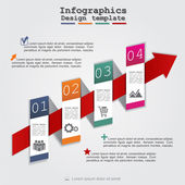 Abstract infographic. Vector illustration — Stock Vector
