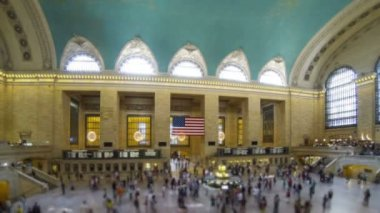 Grand Central Station in New York — Stock Video