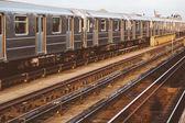 Subway Train in New York — Stock Photo