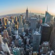 Aerial View of Manhattan, New York — Stock Photo #54102157