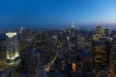 New York at Dusk — Foto de Stock