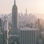 Aerial View of Manhattan, New York — Stock Photo #54812675