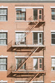 Fire Escape in Building — Stock Photo