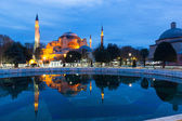 Hagia Sophia in Istanbul at Sunrise — Foto de Stock