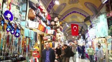 Grand Bazaar in Istanbul — Stock Video