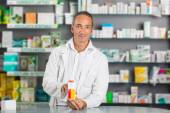 Handsome Male Pharmacist — Stock Photo