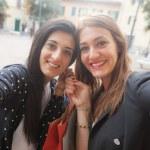 Women taking selfie — Stock Photo #62289941