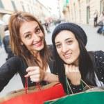Women taking selfie — Stock Photo #62290425