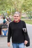 Senior Man at Park — Stock Photo