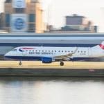 LONDON, UNITED KINGDOM - MARCH 10, 2015: British Airways Embraer — Stock Photo #67225567