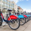 Постер, плакат: New Santander bikes in London