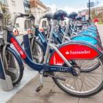 ������, ������: New Santander bikes in London