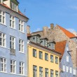 Typical colorful houses in Copenhagen old town — Stock Photo #71507045