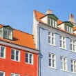 Typical colorful houses in Copenhagen old town — Stock Photo #71507047