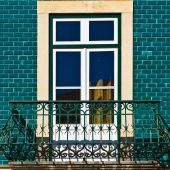 Balcone — Foto Stock