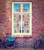 Janela holandês — Foto Stock
