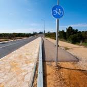 Bicycle Track — Stock Photo