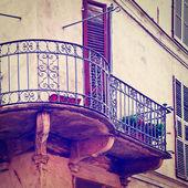 Old Balcony — Stock Photo