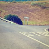 Crossroads — Stock Photo