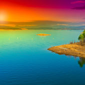 Lake in Spain — Foto de Stock