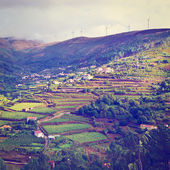 Hills of Portugal — Stock Photo