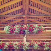 Wooden Loft — Stock Photo