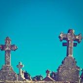 Stone Crosses — Stock Photo