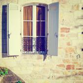 Window with Shutters — Stock Photo