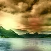 Lake Sarner — Stock Photo