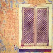 Vieille fenêtre — Photo